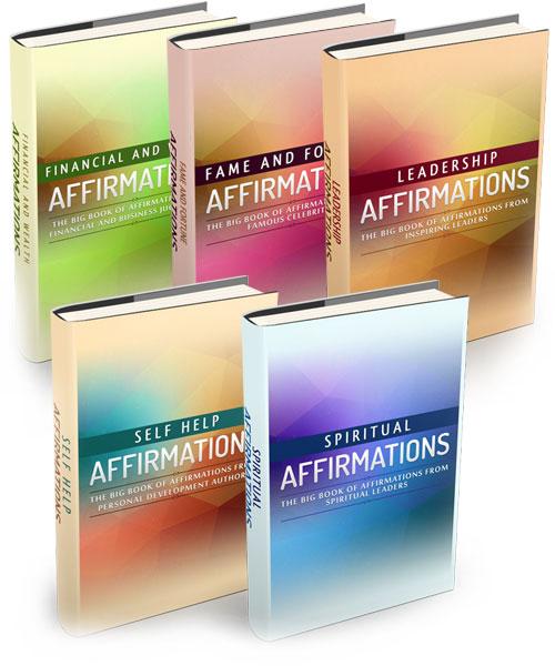 5 Affirmation eBooks