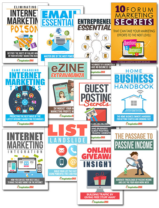 MRR Internet Marketing Bundle Pack