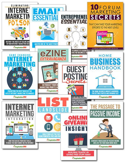 MRR Internet Marketing Bundle Pack