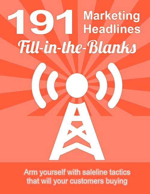 191 Marketing Headlines Fill-in-the-Blanks