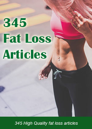 345 Fat Loss Articles With PLR