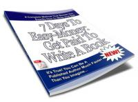7 Days To Easy Money - Get Paid To Write An ebook