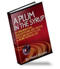 A Plum In The Syrup