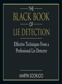 The Black Book of Lie Detection