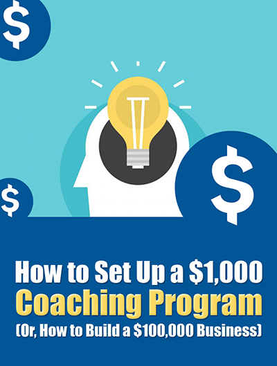 How to Set Up a $1,000 Coaching Program