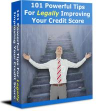 101 Tips To Legally Improve Your Credit Score
