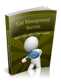 List Management Secrets