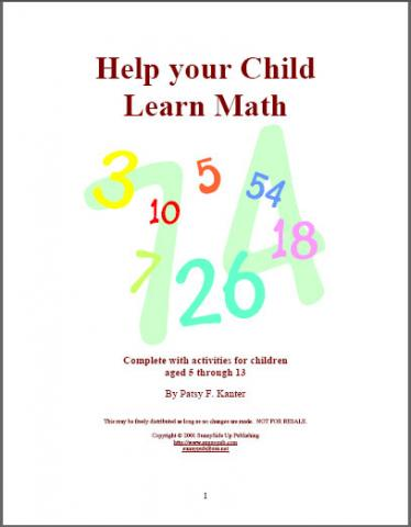 Help Your Child Learn Math
