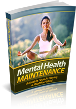 Mental Health Maintenance