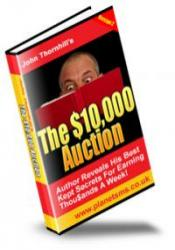 The $10,000 Auction eBook