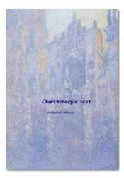 Churchsteeple text