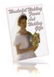Wonderful Wedding Favors & Wedding Gifts