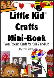 Little Kid Crafts Mini-Book