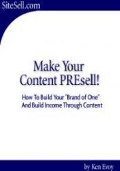 Make Your Content PREsell!