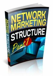 Network Marketing Structure: Part 1