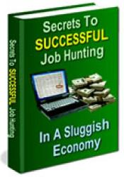 Secrets to Successful Job Hunting in A Sluggish Economy